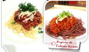 Sauce à spaghetti classique au four
