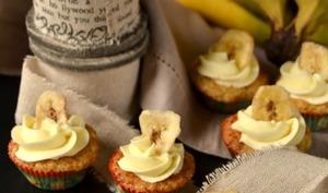 Cupcakes banane et miel