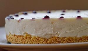 Cheesecake aux cerises, façon bavarois