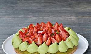Gat-Ô fraises / pistache