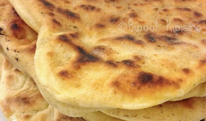 Les cheese naans