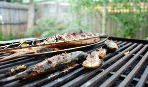 Sardines grillées à la provençale au barbecue ou à la plancha