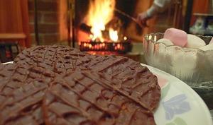 Petits fours au chocolat aux amandes et noisettes
