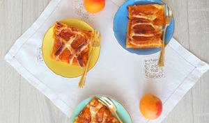 Grillé aux abricots