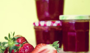 Confiture de fraises traditionnelle