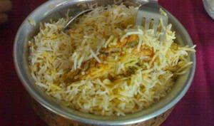 Riz basmati au poulet, hyderabadi biryani, Ramadan