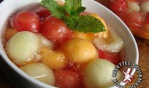 Méli Mélo pastèque et deux melons
