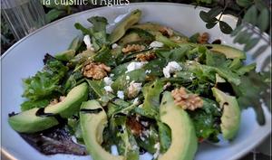 salade presque toute verte