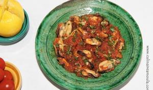 Tajine de moules à la marocaine