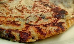 Tortilla aux aubergines