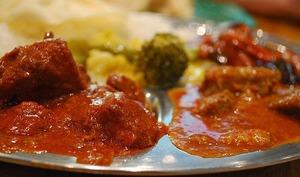 Curry de boeuf buhna, plat traditionnel du Ramadan