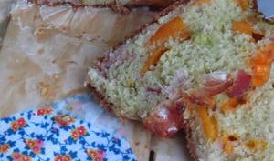 Cake au bacon et à la mimolette vieille