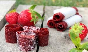 Cuir de fraise