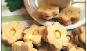 Biscuits sablés au lemon curd