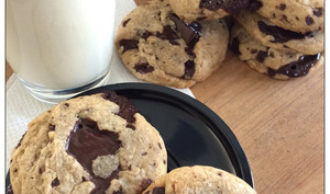 Cookies insolents sans beurre