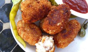 Croquetas espagnoles au jambon cru