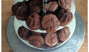 Petits gâteaux ultra chocolat