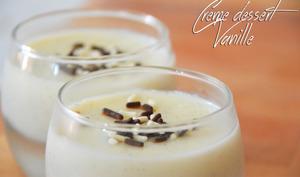 Crème dessert à la vanille façon danette