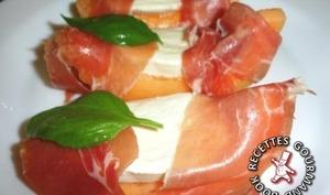Melon à l'italienne