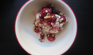 Cranachan aux fruits rouges