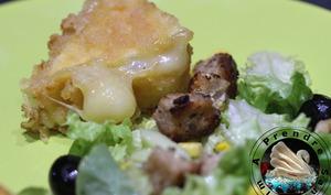 Camembert gratiné
