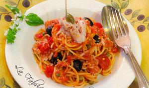Spaghetti al Tonno e Pomodoro Piccanti