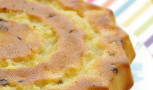 Gâteau ananas et pépites de chocolat