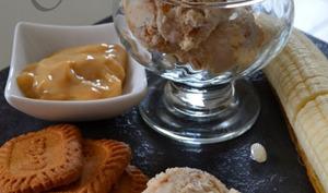 Crème glacée façon banoffee