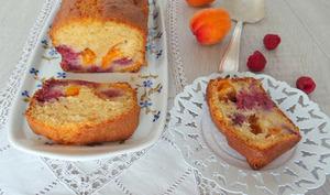 Cake abricots - framboises