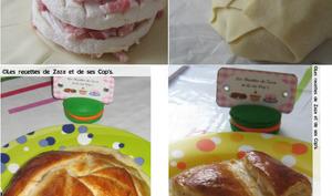 Feuilleté fromage et lardons