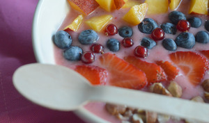 Smoothie Bowl aux fruits d'été