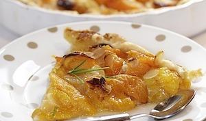 Tarte à l'abricot citron miel et romarin