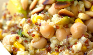 Salade de Quinoa aux Courgettes et aux Pesto