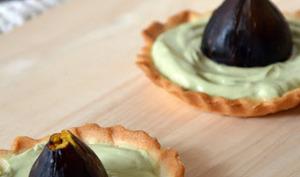 Tartelettes Figues rôties et Thé matcha