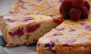 Molly cake aux framboises