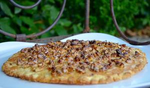 Tarte aux noix et miel