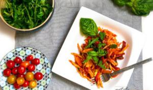 Pâtes aux tomates et à l'arrabiatta