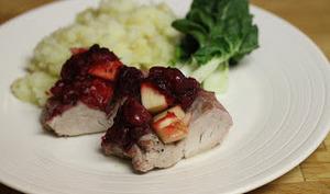 Filet mignon de porc épicé, grillé au barbecue, à la plancha