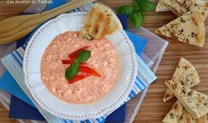 Ktipiti - Sauce dip poivrons et feta