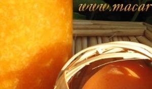 Confiture d'abricot et noix de coco