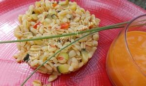 Blé pilaf aux petits légumes