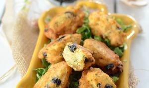 Beignets de pomme de terre aux olives