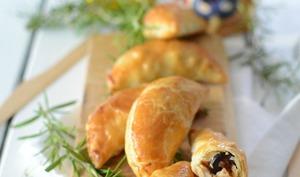 Chaussons au poulet et aux olives noires Tramier