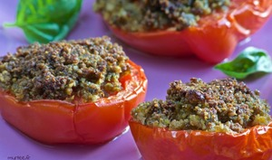 Les tomates à la provençale tandoori