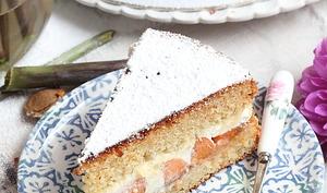 Gâteau à partager miel et abricots