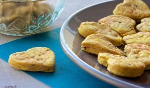Des biscuits au maïs