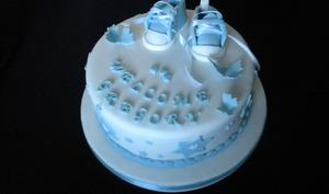 Gâteau pour une baby shower