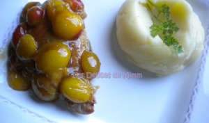 Filets de poulet aux mirabelles