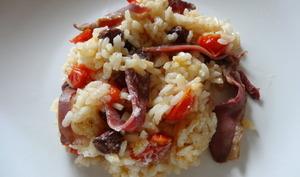 Le risotto canarde
