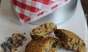 Cookies multi-céréales et pépites de chocolat